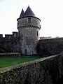 Fougères (35) Château Tour du Hallay 02.JPG