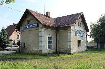How to get to Frýdlant V Čechách Předměstí with public transit - About the place