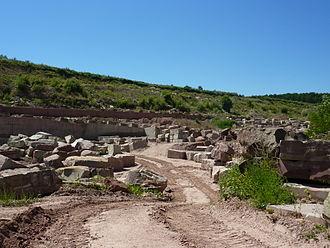 Adamswiller - The Rauschen Sandstone Quarry