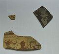 Fragments de ceràmica ibèrica amb decoració figurada, la Mont-ravanna, museu de Prehistòria de València.JPG
