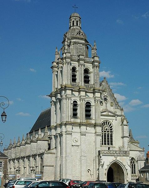 France Loir-et-Cher Blois Cathédrale SaintLouis Photographie prise par Patrick GIRAUD