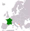 France Montenegro Locator.png