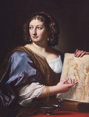 Carlo Maratta - Francesca Gommi Maratta (circa 1690)