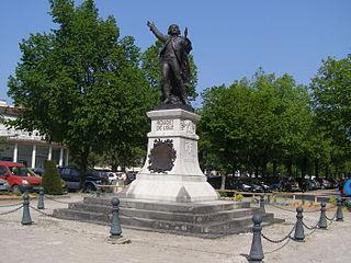 statue de Rouget de Lisle