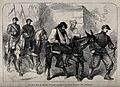 Franco-Prussian War; Civil unrest in Paris. Wood engraving. Wellcome V0015460.jpg