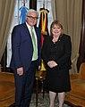 Frank-Walter Steinmeier and Susana Malcorra.jpg