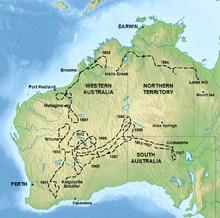 western australia 1896 1921edit