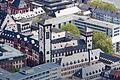 Frankfurt Am Main-Roemer-Kleiner Cohn und Langer Franz vom Maintower aus gesehen.jpg