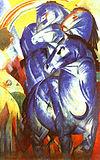 『青い馬の塔』