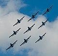 Frecce Tricolori NL Air Force Days (9291484546).jpg