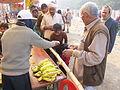 Free Food Distribution - Gangasagar Fair Transit Camp - Kolkata 2012-01-14 0615.JPG