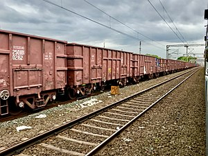 Freight train in Chebrole railway station.jpg