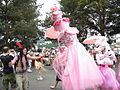 Fremont Solstice Parade 2008 - Pastries & Poodles and a pirate.jpg