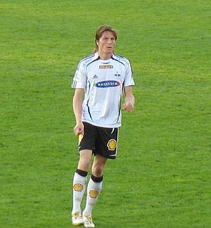 Frode Johnsen - Johnsen with Rosenborg in 2006