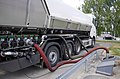 Fuel tank truck delievering fuel to petrol station 20180604.jpg