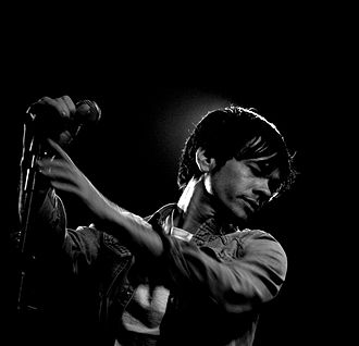 Nate Ruess - Ruess performing with Fun in March 2010.
