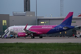 Wizz Air UK - A Wizz Air UK Airbus A320 in March 2018 at Luton Airport