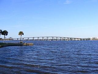 Granada Bridge (Ormond Beach) Structure in Florida, United States
