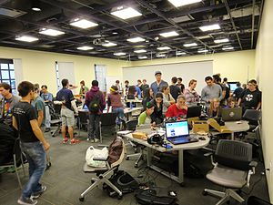 Global Game Jam - An image from the Global Game Jam in Los Angeles 2015