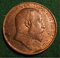 GREAT BRITAIN, EDWARD VII, 1905 -HALFPENNY b - Flickr - woody1778a.jpg