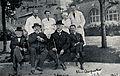 Gaillard, H. Babinski, J. Babinski, A. Charpentier and four Wellcome V0028211.jpg