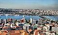 Galata kulesinden İstanbul 360 derece 5.Haliç ve Atatürk köprüsü - panoramio.jpg