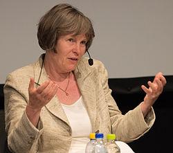 Karin Rehnqvist på Gannevik Talks på Kulturhuset i Stockholm 2015.