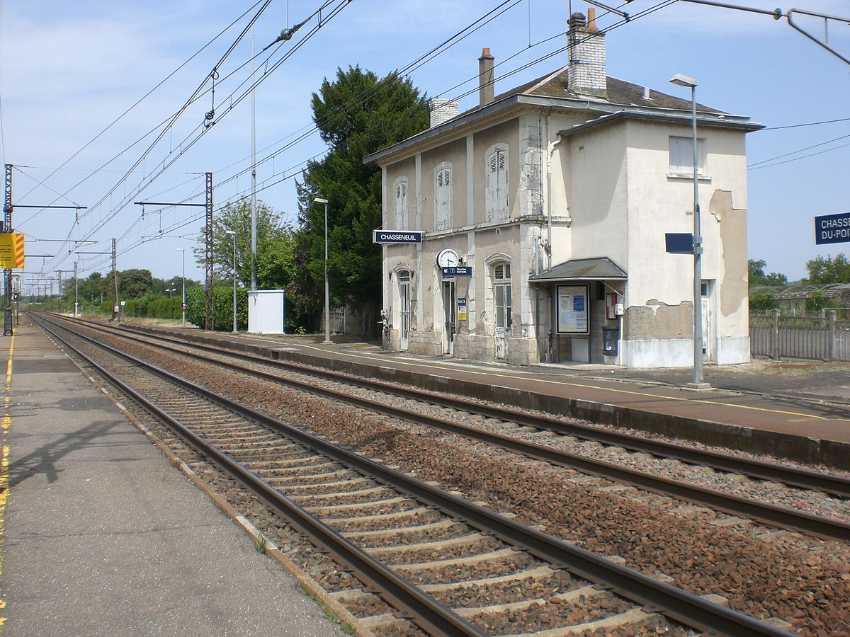 gare de chasseneuil vienne wikip dia. Black Bedroom Furniture Sets. Home Design Ideas