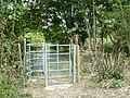 Gate Near Hever Station, Kent - geograph.org.uk - 1384072.jpg