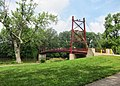 Gayle B. Price Jr. Suspension Bridge, Dayton OH - panoramio.jpg