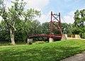 Gayle B. Price Jr. Suspension Bridge, Dayton OH - panoramio.jpg