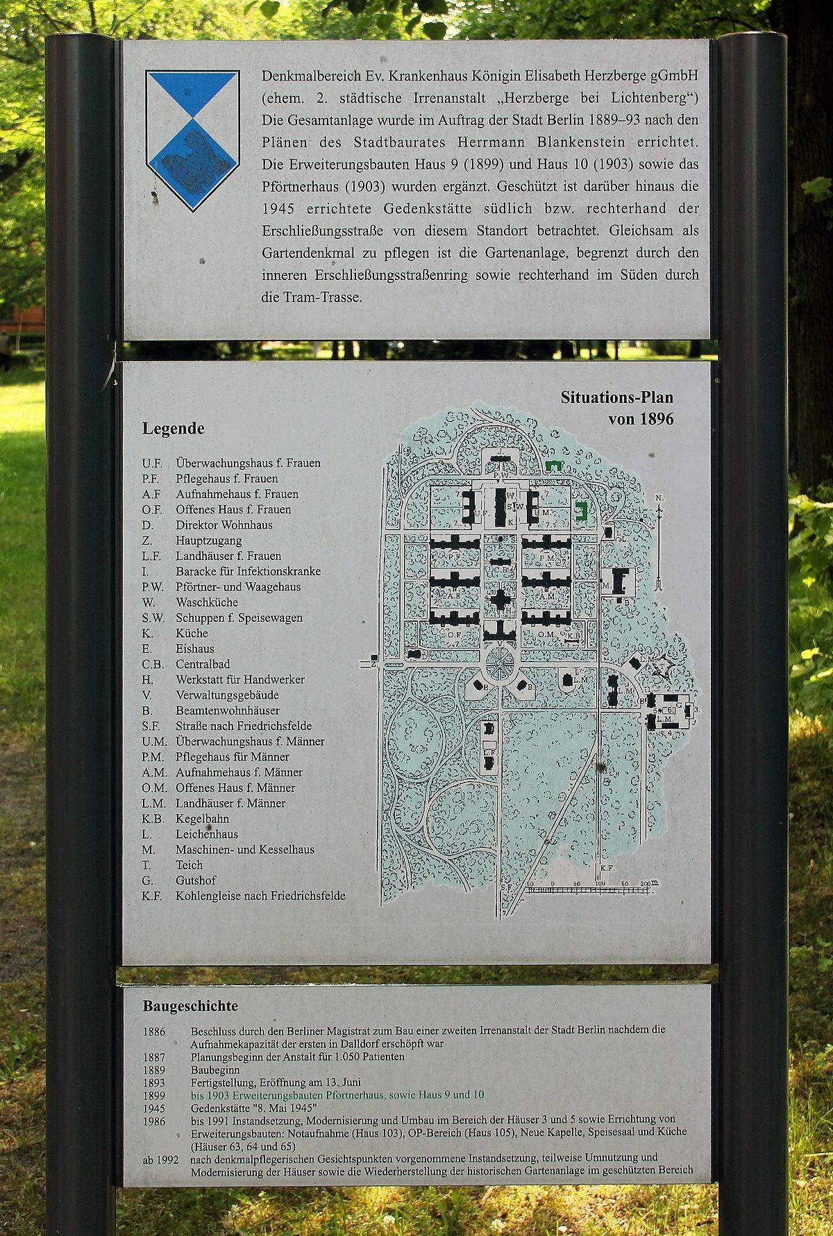 Evangelisches Krankenhaus Königin Elisabeth Herzberge Wikimedia