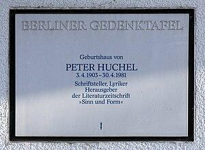 Huchel, Peter (1903-1980)