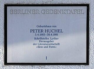 Peter Huchel German poet