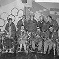 Gehandicapten terug van Olympische Spelen te Tokio, C. Prins , die twee gouden m, Bestanddeelnr 917-1372.jpg