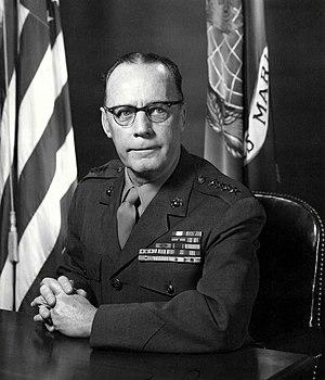 Randolph M. Pate - 21st Commandant of the Marine Corps (1956-1959)