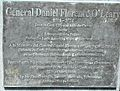 General Daniel Florence O'Leary 1801-1854, plaque.JPG