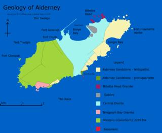 Geology of Alderney