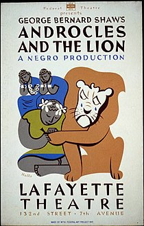 George Bernard Shaw's Androcles and the lion.jpg