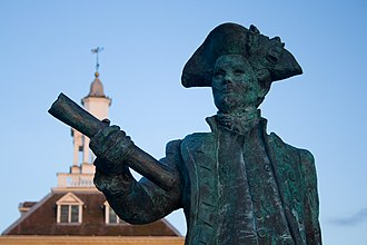 George Vancouver - Statue of George Vancouver in King's Lynn