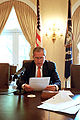 George W. Bush Weekly Radio Address, May 5, 2001.jpg