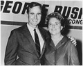 George and Barbara Bush in Houston, Texas on the night which George Bush was elected to Congress - NARA - 186373.tif