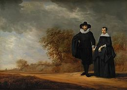 Gerard Donck and Frans de Hulst, Burgomaster Cornelis Damasz. van der Gracht and his Wife, Jopken Jacobs, in a Landscape.jpg