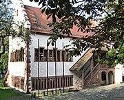 Im ältesten Rathaus Freiburgs, der Gerichtslaube, fand 1498 der Reichstag statt