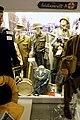 German WW2 uniforms; Wehrmacht Volkssturm; Waffen-SS Streifendienst; Front Feldgendarmerie; camouflage; Panzerfaust, cap, drum, etc. Lofoten Krigsminnemuseum 2019-05-08 DSC00063.jpg