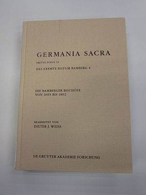 Germania Sacra - Volume 12 of the 3rd series
