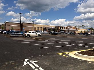 Orange County, Virginia - Locust Grove Walmart Completed