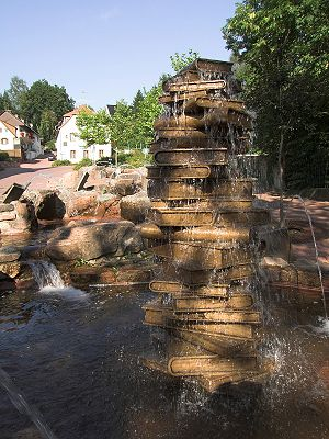 Wald-Michelbach - Bücherbrunnen