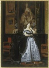 Portrait de la baronne Nathaniel de Rothschild, née Charlotte de Rothschild