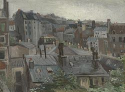 Vincent van Gogh: View from Vincent's Studio
